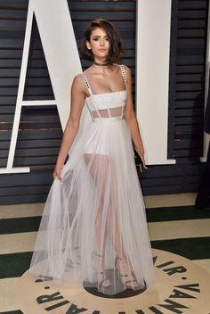 Nina Dobrev – 2017 Vanity Fair Oscar Party in Hollywood