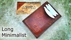TwoFinger Design - Long Minimalist Wallet