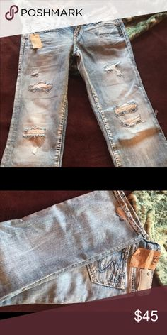 Nwt silver jeans Size 24 Silver Jeans Jeans Straight Leg
