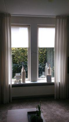 Sfeervolle lichte raamdecoratie