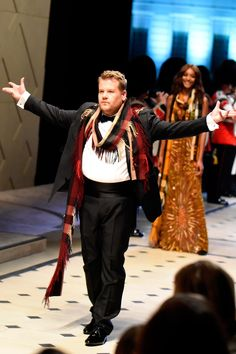 James Corden's Burberry moment - click through to watch the hilarious film
