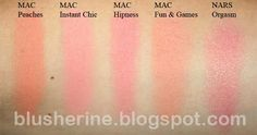 Blusherine: MAC Coral Blushes Comparison