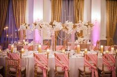 Wedding, Blush pink, Gold, Westin Columbus Ohio, Benjamin James Photography, The Finer Things Events