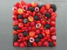 Tarte aux fruits rouges sur son sablé Breton et sa crème d'amandes - Meilleur du Chef