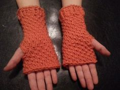 My 8 year old asked for fingerless mittens to go with his loom knit hat. Jared's Fingerless Mittens were made for a boy; add an embellishment for a girl.