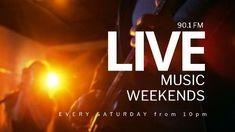 Music Live Event Modern Video weekends