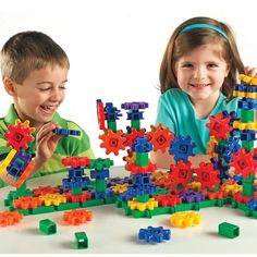 Amazon.com: Learning Resources Gears! Gears! Gears! Super Set: Toys & Games