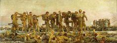 Sargent, John Singer (RA) - Gassed - Google Art Project - Liste von Gemälden und Grafiken zum Ersten Weltkrieg – Wikipedia