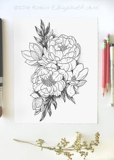 1000 ideas about Magnolia Tattoo on Pinterest Tattoos