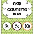 Grab this FREEBIE and practice skip counting by 2s, 5s and 10s.  The activity cards and practice pages have been updated to 120 to reflect CCSS.  T...
