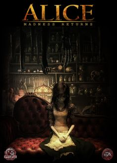 alice the madness returns poster - Google Search