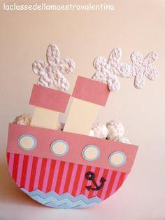 A sweet boat - boy party