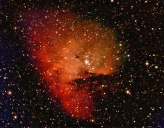 The Pacman Nebula- Not even joking, that's its actual name. <3 Astronomers