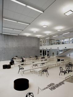Panta Rhei college interiors / i29 + Snelder Architecten - Amstelveen, The Netherlands