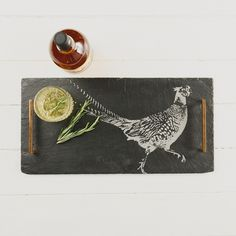 Pheasant Slate Tray - £42