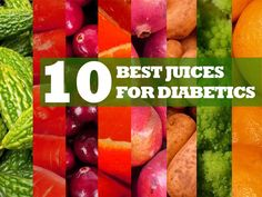 The 10 Best Juicing Recipes for Diabetics  http://ifocushealth.com/10-best-juicing-recipes-diabetics/