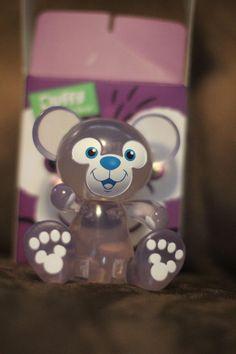 "Disney Vinylmation 3"" Duffy Bear Clear Chaser Rare Clear   eBay"
