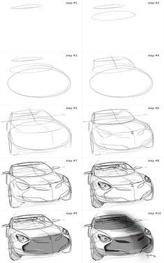 3 ellipses car by Pedro Guarinon