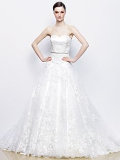 IRIS   Exclusive Bride #Enzoani dress #newcollection