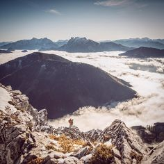 A view at the foggy Gesäuse from the Bosruk.  #nationalpark #gesäuse #autumn #austria #austrianalps #visitaustria #climber #climbing #outdoors #mountains #theoutdoorlens #outdooradventurephotos #wildernessculture #styria by stefan_leitner