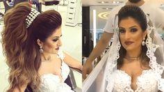 Beautiful Wedding Hair by Helan Dlol