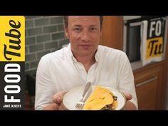 Jamie Oliver's folded omelette !