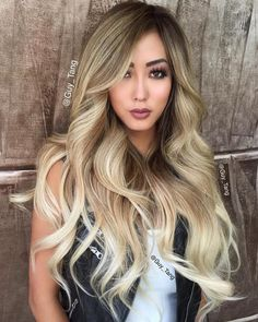 20 New Ideas Hair Extensions Balayage Guy Tang Guy Tang Balayage, Balayage Hair Brunette Short, Asian Balayage, Sombre Hair, Balayage Ombré, Asians With Blonde Hair, Asian Ombre, Blonde Asian Hair, Blonde Streaks
