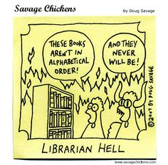 When Librarians have nightmares