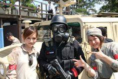 地球防衛部(くらぶ)サバイバルゲーム in 千葉RAID 31/Aug/2013