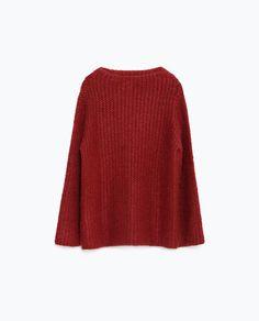ベルスリーブセーター-セーター-ニット-レディ-ス   ZARA 日本