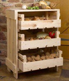 Как правильно хранить овощи дома | Дом на Клео | Kleo.ru