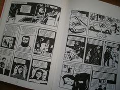 """13:25 H. En clase de MAE leemos """"Persépolis"""", puesto que la lectura visual de los cómics conecta bien con el alumnado para tratar temas relevantes de nuestra sociedad."""