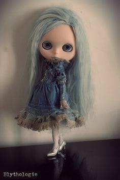 Blythe Victorian Dress Set by Blythologie on Etsy, $69.00