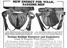 weirdvintage:   Are you a weak, sagging men? Try... - WeirdVintage