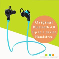 Bluetooth Earpiece Wireless Bluetooth 4.0 Headset G6 Sports Stereo Earphone Studio Music Handsfree Headphone Sweatproof With Mic For Iphone Samsung Childrens Headphones From Mayiandjay, $13.71