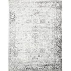 Bungalow Rose Ford Gray/Beige Area Rug Rug Size: 9' x 12'