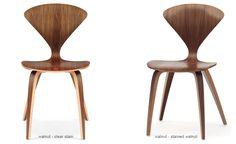 Cherner Side Chair - Upholstered Seat & Back - hivemodern.com