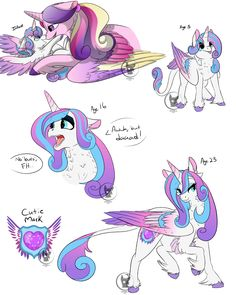 Princess Flurry Heart (Filly and Adult Headcanons) by Astori-a