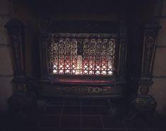"Henry Nahurski on Instagram: ""Finally lit the old gas stove in my fireplace. So damn cool #lit 🔥"""