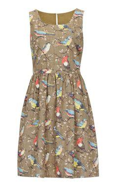 Garden birds dress