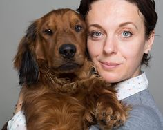 Adorable and Cute Dog with woman!