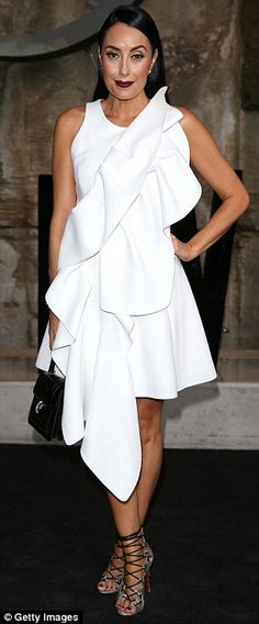 Chic:Australian shoe designer Terry Biviano is known for her glamorous strappy stilettos and boutique shoe collections