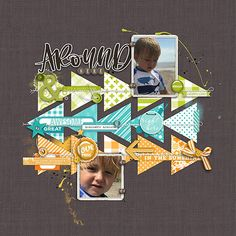 Look for color packet with different designs, same color. Merry Go Around 2018 12x12 Scrapbook, Digital Scrapbooking Layouts, Scrapbook Sketches, Scrapbook Page Layouts, Vacation Scrapbook, Yearbook Covers, Yearbook Layouts, Yearbook Design, Yearbook Theme