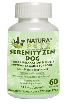 Serenity Zen Dog and Cat for Anxiety - Stress, Relaxation & Multi-Systems Calming Support*
