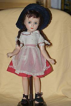 "Vintage 18"" Tagged Madame Alexander Margaret O'Brien Composition Doll"