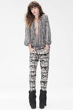 I need this blouse!  Isabel Marant for H&M!