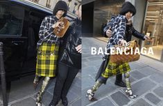 Balenciaga becomes a paparazzi magnet with the release of its spring-summer 2018 campaign. Inspired by pap shots, the advertisements feature a cast of mode