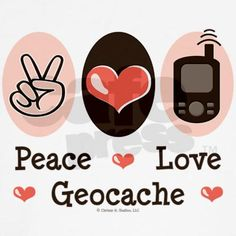 Peace Love Geocache - that's how it works!