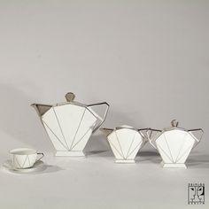 Art Déco coffee set executed by Victoria - ZEITLOS – BERLIN