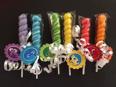 Disney Inside Out birthday party favor Set of by RockinPartyTreats
